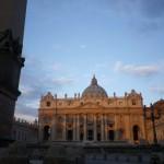 San Pietro di primo mattino