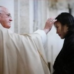 Papa Francesco ed Erchimenegh (con Burt Sofia)
