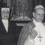 Madre Guillemin FdC e Paolo VI
